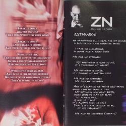 Zombie Nation - Leichensschmaus LP (1999) - foldout page 1+2