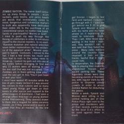 Zombie Nation - Leichensschmaus LP (1999) - foldout page 3+4