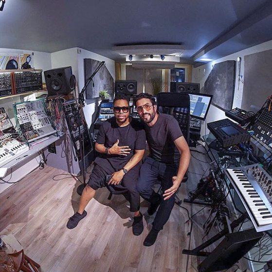 Studio session with Felix da Housecat