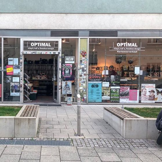 Optimal Records in Munich was my 1st