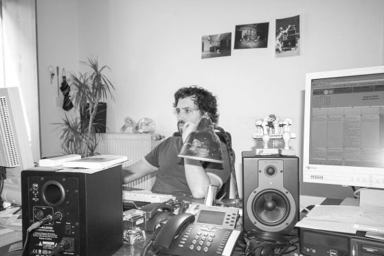August 2008 at UKW Records office Munich
