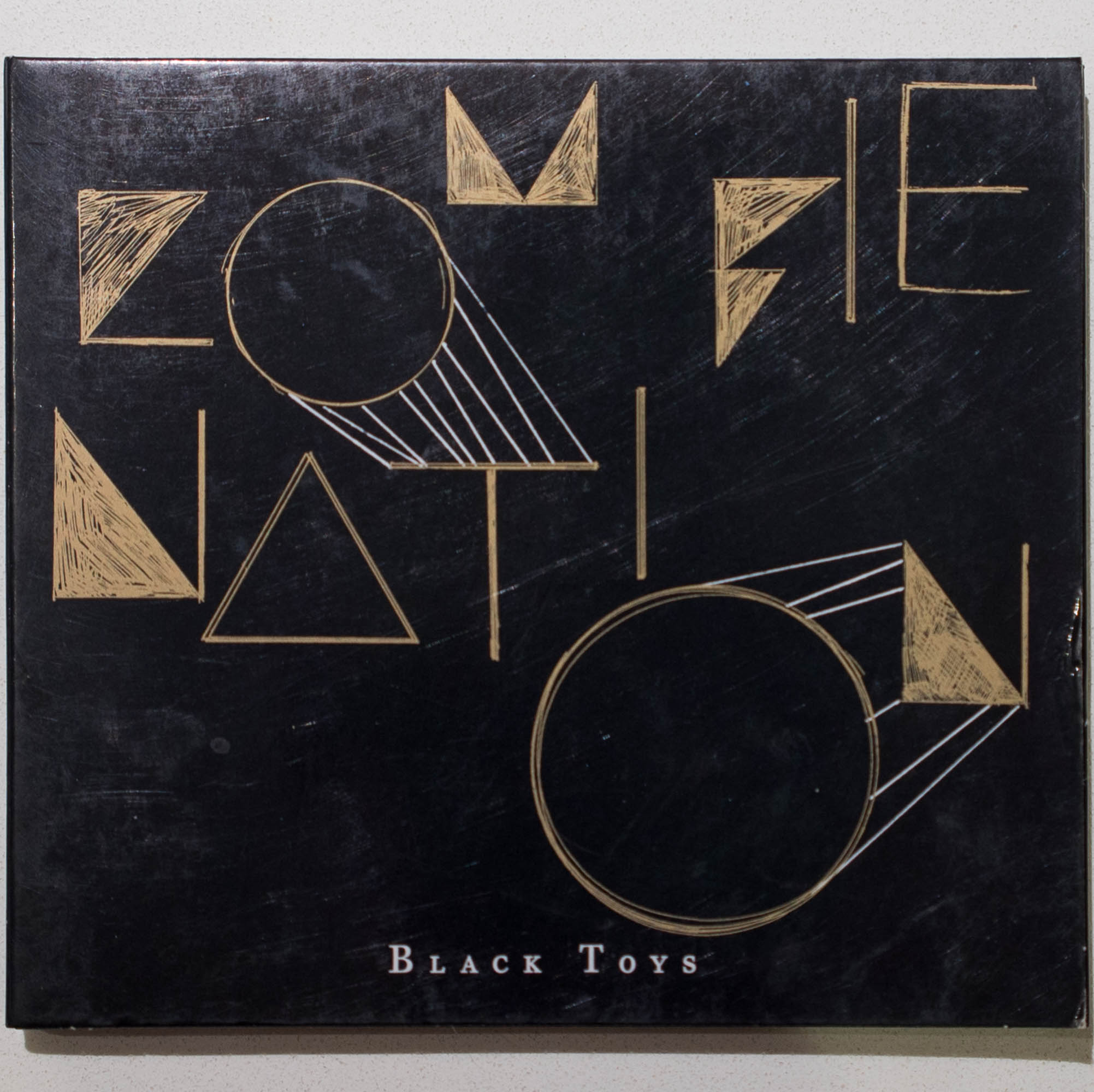 Zombie Nation - Black Toys LP CD dront cover