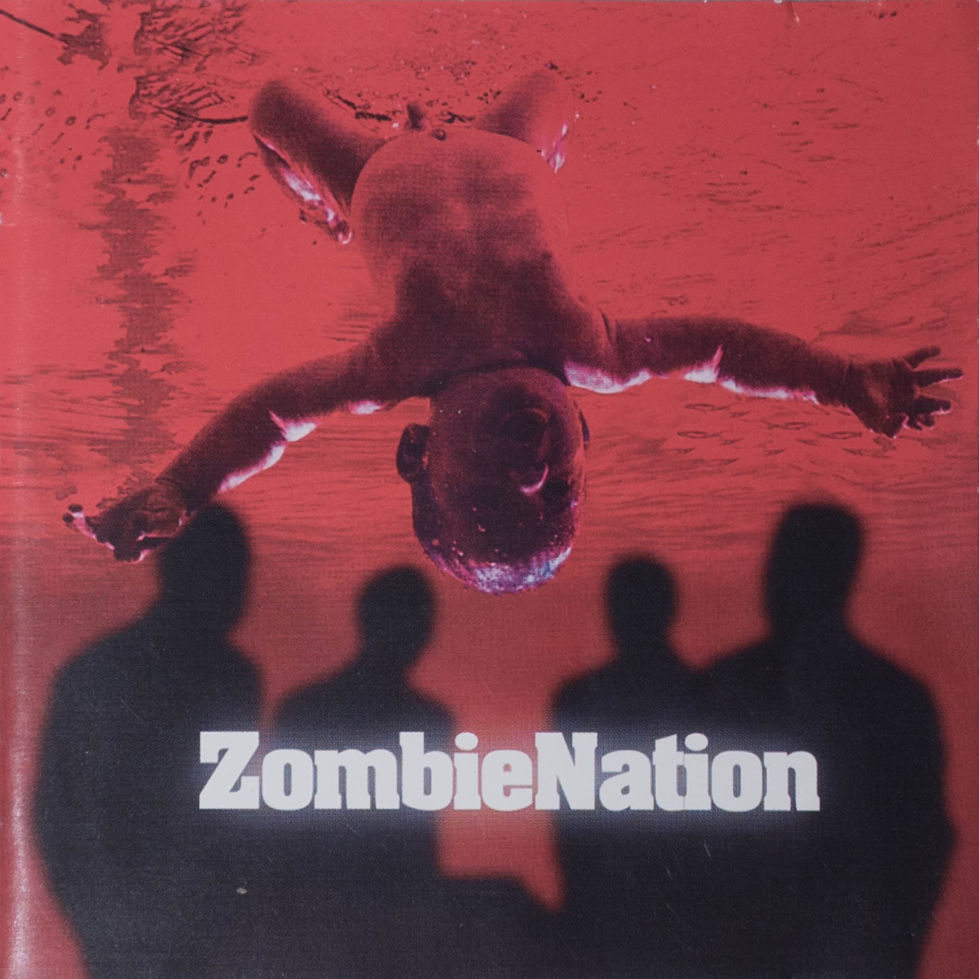 Zombie Nation - Leichensschmaus LP (1999) - cover artwork