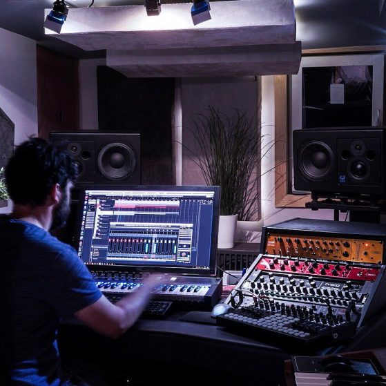 Night-time mastering Cubase sessions