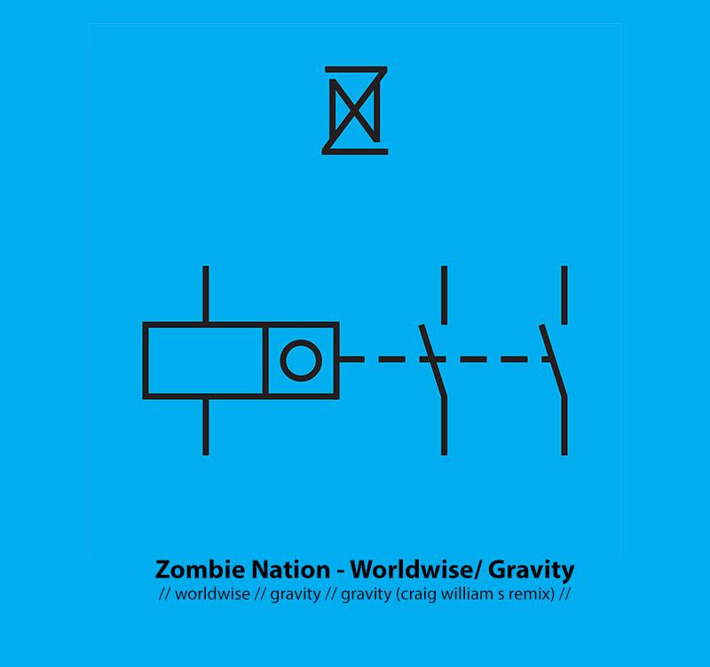 UKW 023 - Zombie Nation - Worldwise / Gravity